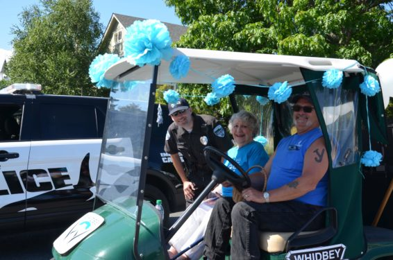 Whidbey Telecom community parade Marion Henny